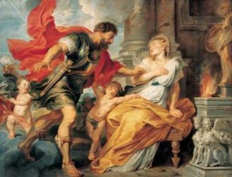 """""""Марс и Рея Сильвия"""". Рубенс  (1577–1640)"""