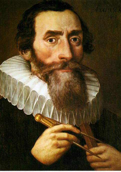 Иоганн Кеплер, астроном Кеплер, изображение Кеплера, фотография Кеплера, Знаменитые астрономы